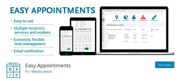 Plugin Easy Appointments