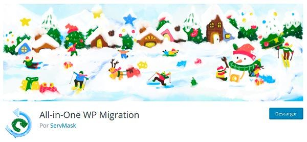 Plugin All in One WP Migration