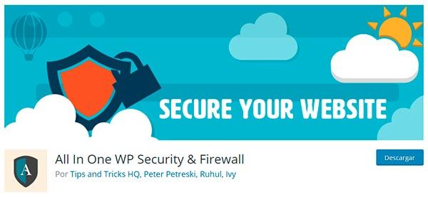Plugin All in One WP Security