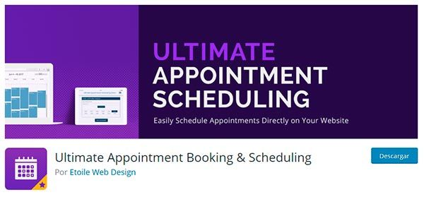 Plugin Ultimate Appointment Booking Scheduling